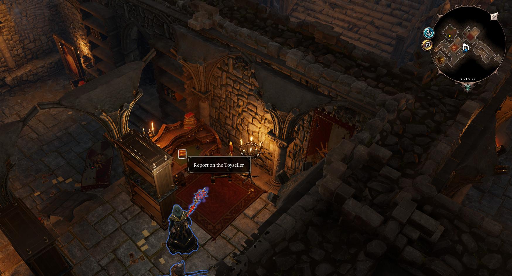 Divinity Original Sin  Magister Treasure Room Arx