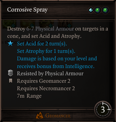 Corrosive Spray | Divinity Original Sin 2 Wiki | The Vidya