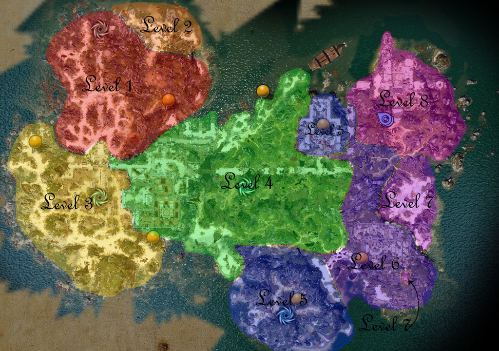 Areas By Level | Divinity Original Sin 2 Wiki | The Vidya